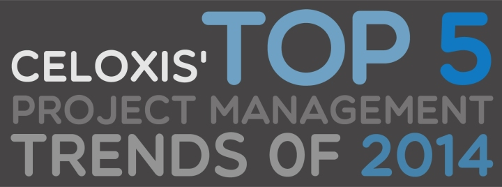 Celoxis' Top 5 project management trends of 2014