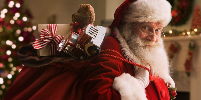 Santa Claus meticulous planning