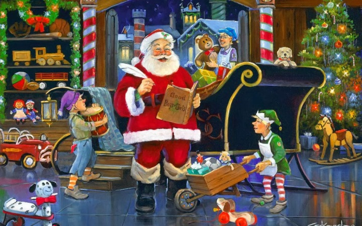 Santa's Workshop Resource management