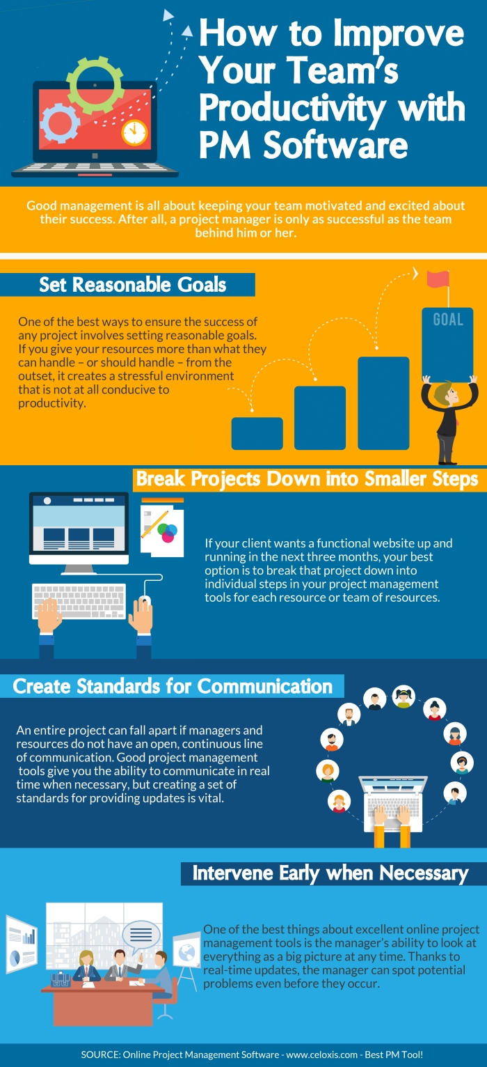 INFOGRAPHIC: Improving team productivity with PM Software
