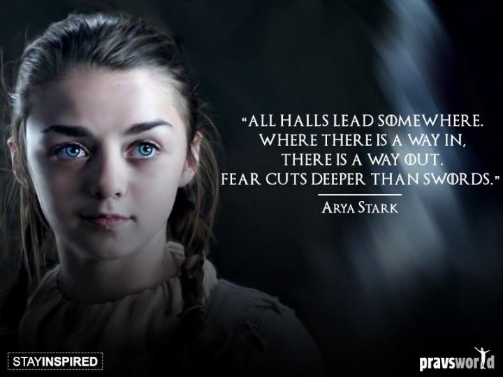Game of Thrones Arya Stark Quote