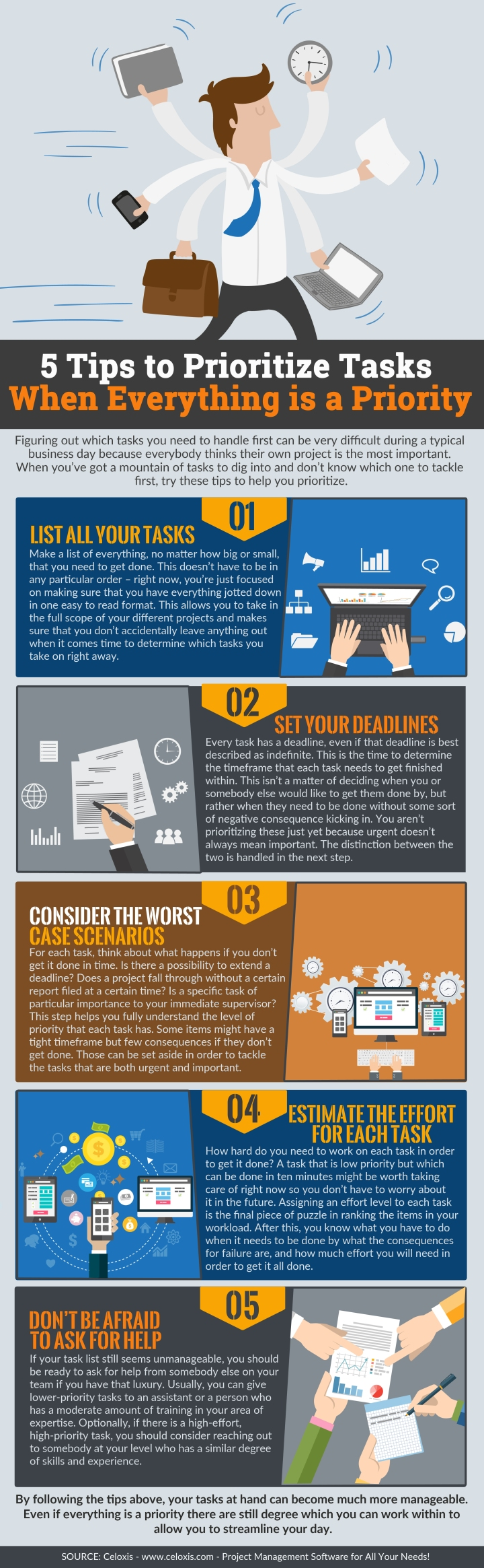 INFOGRAPHIC: 5 Tips to Prioritize Tasks When Everything is a Priority