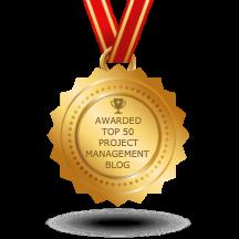 Feedspot top 50 project management blogs