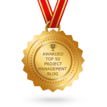 Feedspot top 50 project management blogs