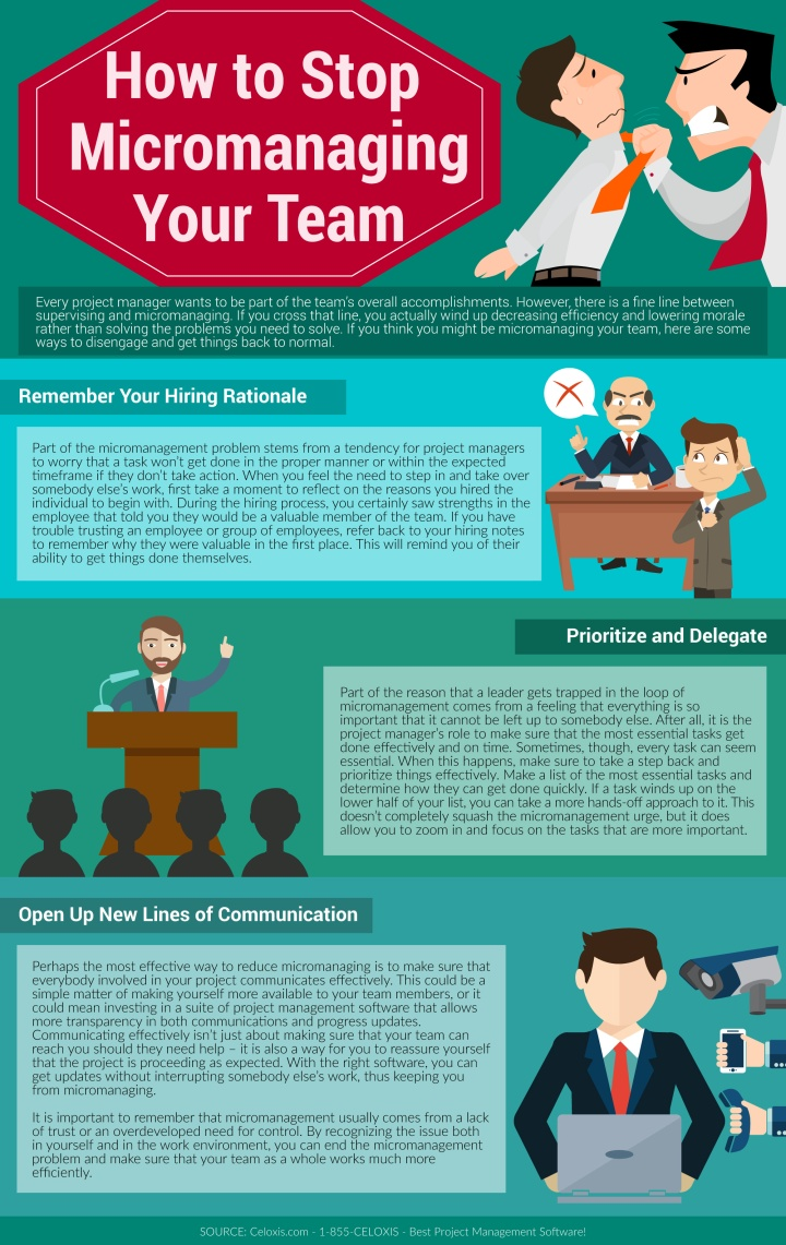 INFOGRAPHIC: How to Stop Micromanaging Your Team